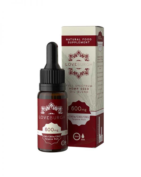 Loveburgh CBD Oil 600mg