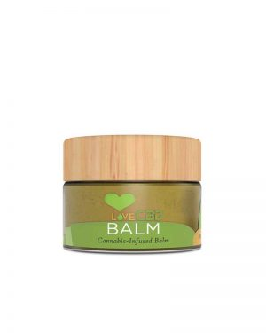 Love CBD Balm. Multi purpose cannabis infused skin balm