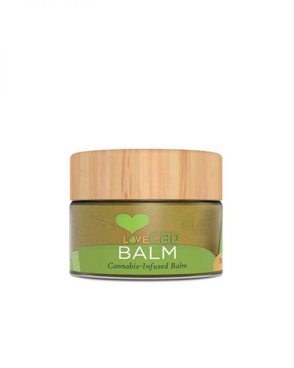 Love CBD Balm. Multi purpose cannabis infused skin balm