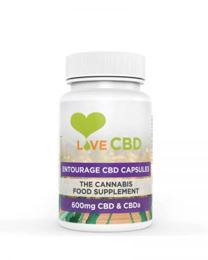 Love CBD Entourage Capsules 600mg