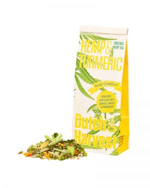 Dutch Harvest Hemp and Turmeric Tea