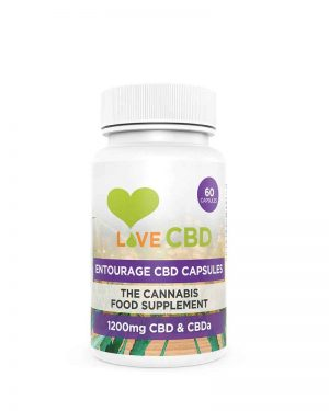 1200mg cbd capsules from Love CBD