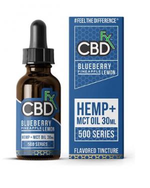 CBD fix hemp mct oil