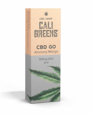 Cali Greens CBD GO 120mg Disposable Vape Pen