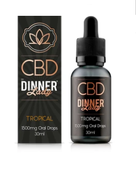 Dinner lady Oral CBD - 500mg