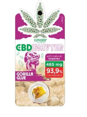 Euphoria CBD shatter gorilla glue