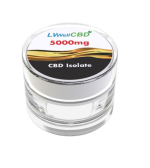 LV Well CBD Isolate 5000mg