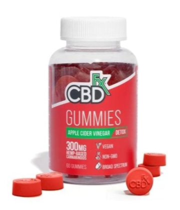 CBDfx Gummies- Apple Cider Vinegar