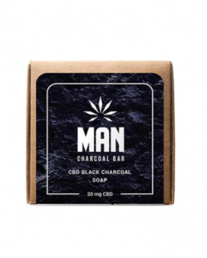 MAN CBD CHARCOAL SOAP