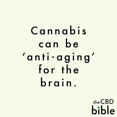 cbd bible quote anti ageing